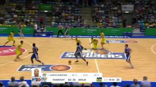 A.J. English Fraport Skyliners 2016-2017 Highlights