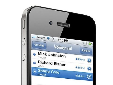 How to reset your visual voicemail password on an iPhone 5, iPhone 4