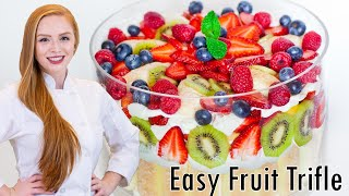 Fruit Trifle With Mixed Fruit
