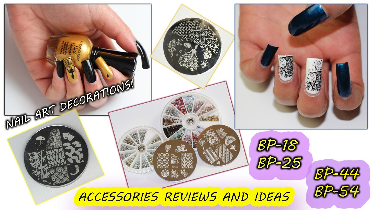 Nail Accessories Review And 2 Easy Nail Art Ideas Youtube