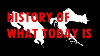History of what today is: Costa Rica + Croatia [#31]