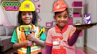 Goo Goo Girl & Dre Dre Choose Their Profession! (What Profession Will You Choose?)