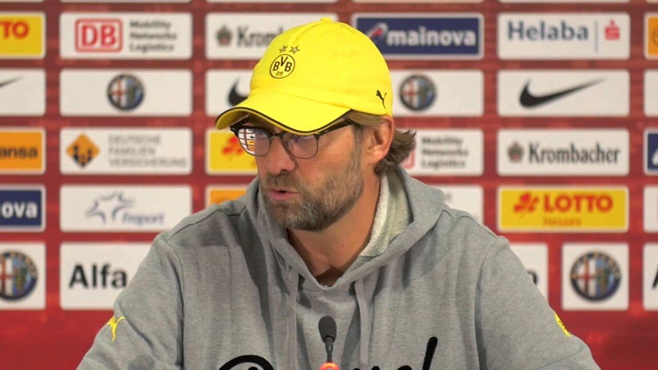 "Jürgen Klopp kann Pfiffe ""nachvollziehen""   Eintracht Frankfurt - Borussia Dortmund 2:0"