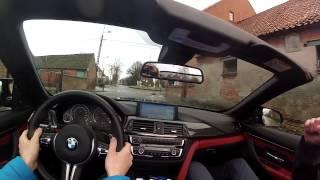 BMW M4 Convertible - POV Drive & Pure Sound