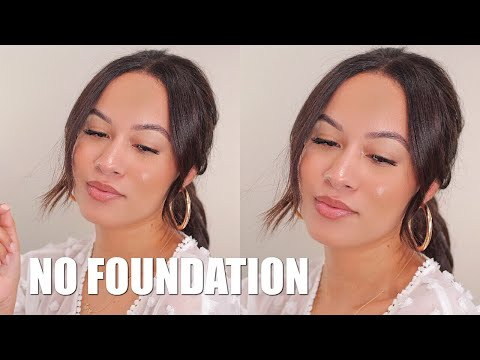 NO FOUNDATION SUMMER MAKEUP ROUTINE | Marie Jay thumbnail