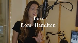 """Burn"" from Hamilton. Susana Ballesteros. Written by Lin Manuel Miranda. Mix: Marconi de Morais"