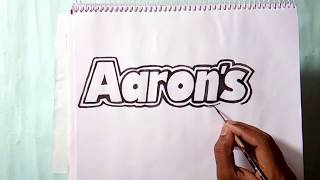 How to draw the Aaron