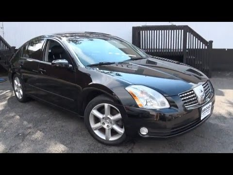 2004 Nissan Maxima 3 5 Se Navigation 4 Seater Youtube