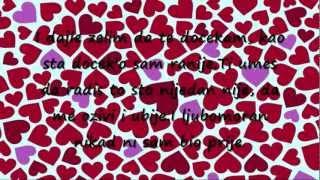 Mr Black - Ja hocu da te kissnem [NEW 2012] Lyrics On Screen