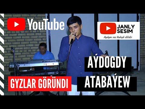 Aydogdy Atabayew Gyzlar Gorundi Janly Sesim Turkmen Toy aydymlary