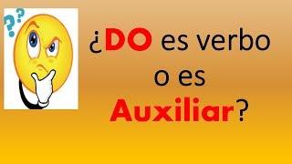 ¿Do es verbo o auxiliar? Como hago preguntas en inglés? - Inglés Fácil -