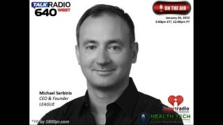 Michael Serbinis CEO of LEAGUE Interviewed on Health Tech Talk Live Hosted by Ben Chodor