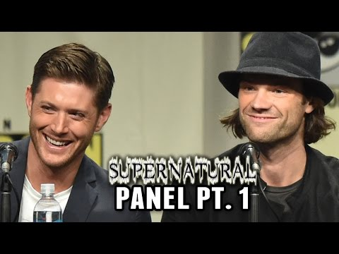 Supernatural Panel Part 1 - Comic-Con 2014 (Jensen Ackles, Jared Padalecki, Misha Collins) - Clevver News  - grfoou5g-rU -