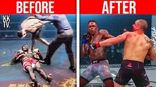 😱Before & After Fighting Israel Adesanya! (UFC)