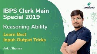Best Input Output Tricks for IBPS Clerk Main Special 2019
