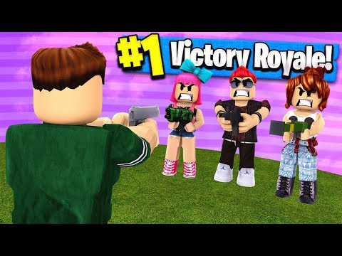 BATTLE ROYALE GAME MODE IN ROBLOX!