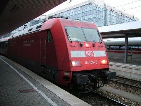 Traveling on the DB (Deutsche Bahn)