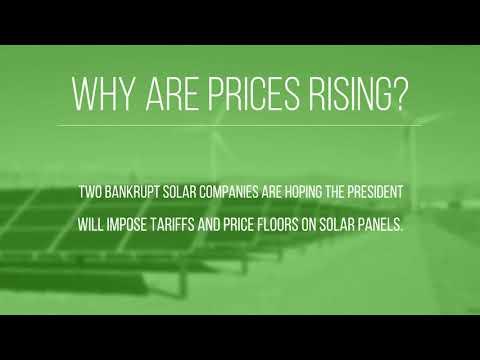Are Solar Prices Increasing?