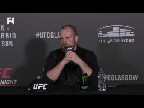 "UFC Fight Night Glasgow: Gunnar Nelson Post-Fight Press Conference - ""I Got Caught Tonight"""