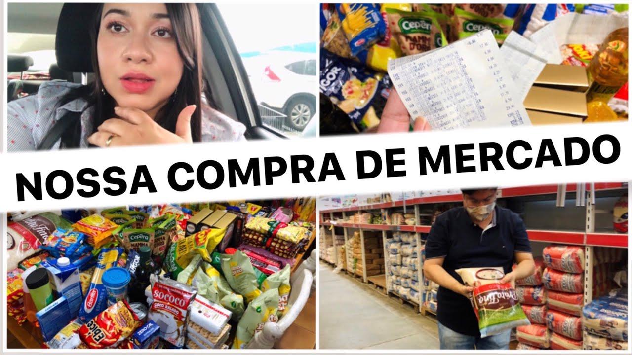COMPRINHAS DE MERCADO NO ATACADISTA ASSAÍ + VLOG DO MEU DIA