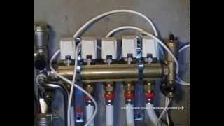 видео Сервопривод для коллектора теплого водяного пола