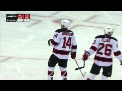 Rare Occurrence in Hockey: New Jersey Devils Score a Fluky Goal.
