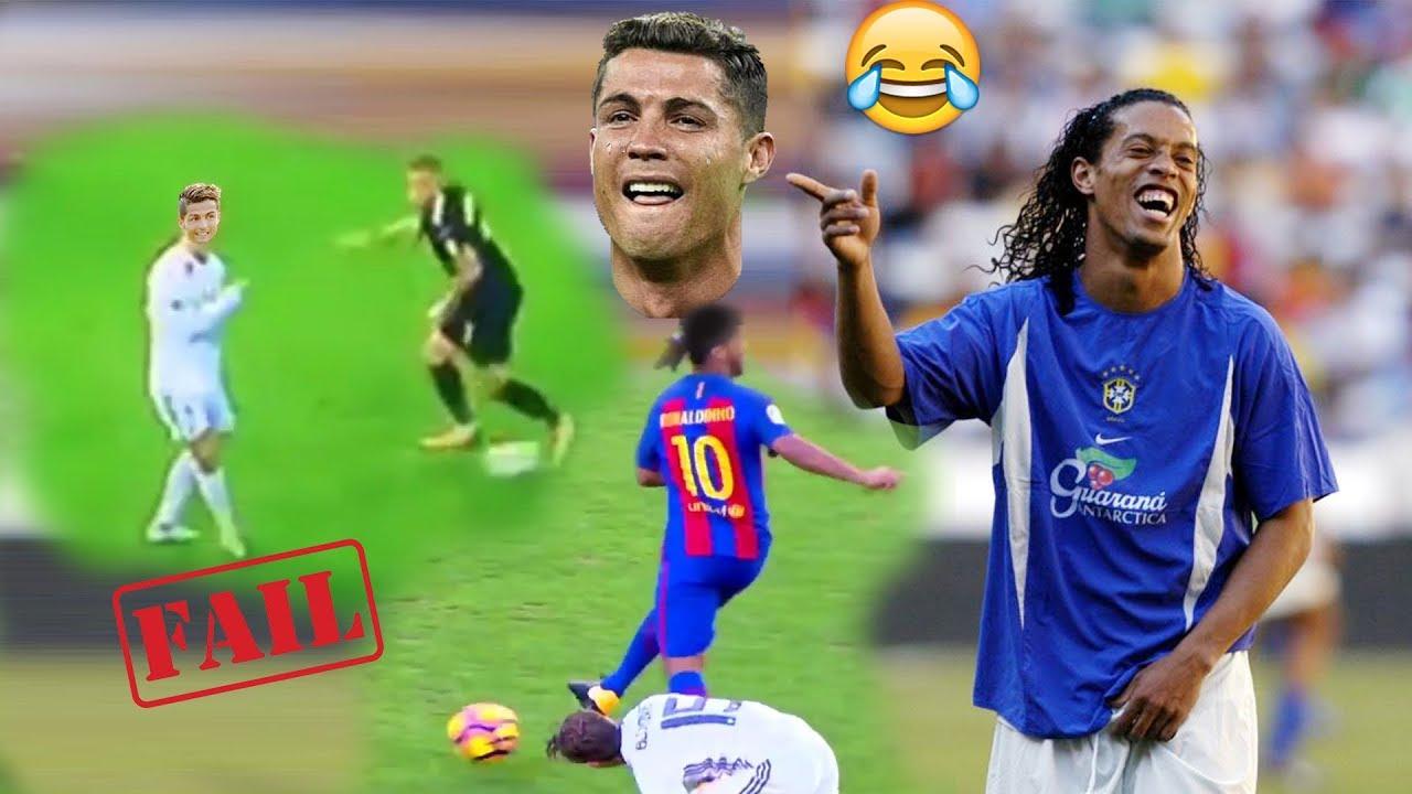 Ronaldo  copies  Ronahldihno and FAILS   Epic fail ( humorous ) 😂😂