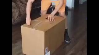 Watch Funny Video Girl Packed in Box | Must Watch - TikTok Virals