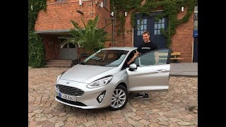 Ford Fiesta Titanium EcoBoost (125 PS) Fahrbericht / Review mit Einparkassistent