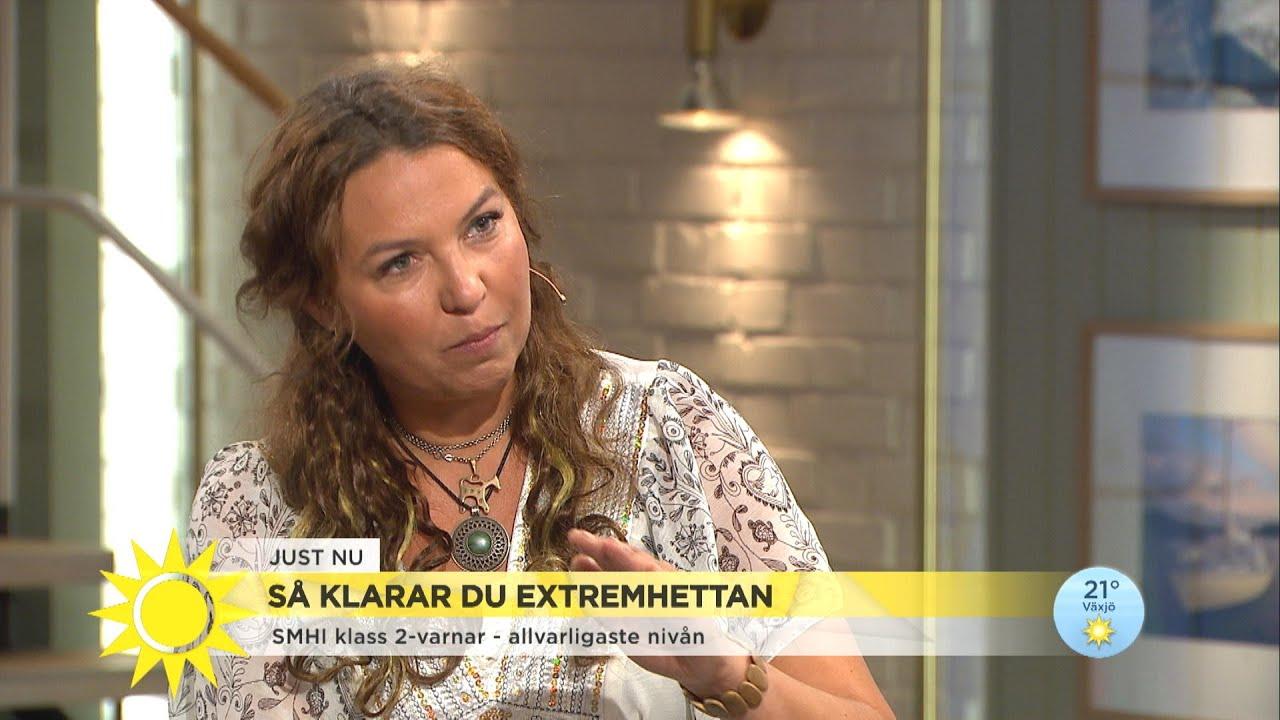 """Forskarens råd i extremvärmen: """"Öppna inte dörrar och fönster under dagen""""  - Nyhetsmorgon (TV4)"""