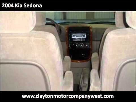 2004 Kia Sedona Available From Clayton Motor Company West