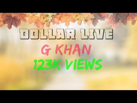 O Dollar Gindi Ae Mai Taare Ginda Haan G Khan Live Kya Gaayki Kamaal Karta