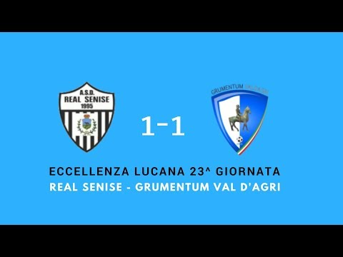 Real Senise Grumentum Val D'agri  1-1 primo tempo