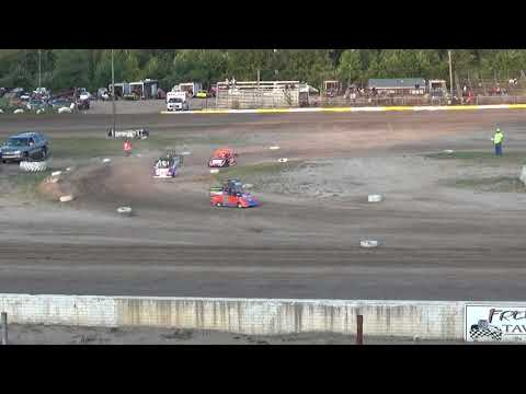 Mini Wedge Heat Race at Mt. Pleasant Speedway on 07-27-2018.