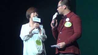 20131205 李昊嘉@青年廣場「食物享樂」慈善音樂會-訪問+「細訴」 thumbnail