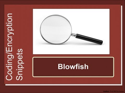 Security Snippets: Blowfish
