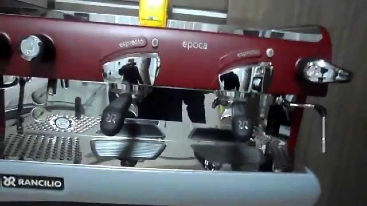 rancilio epoca espresso machine