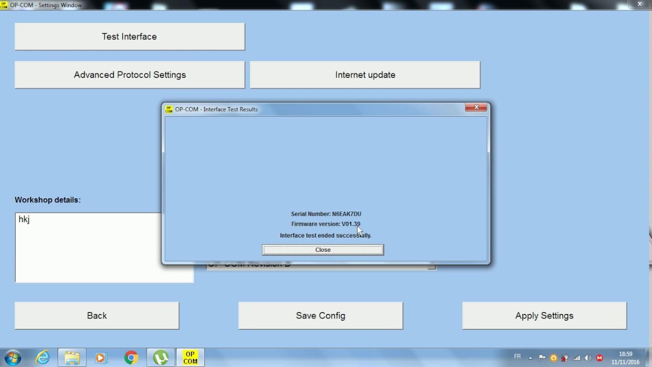 Opel Security Code Reader software
