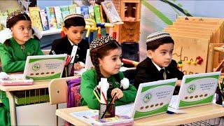 В Туркменистане школьники получают знания на трех языках