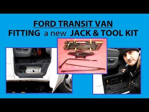 FITTING A NEW JACK & TOOL KIT - FORD TRANSIT VAN - MINIBUS - CAMPER - Vanlife