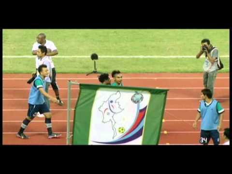 Myanmar football fight (Yangon vs Nay pyi taw)