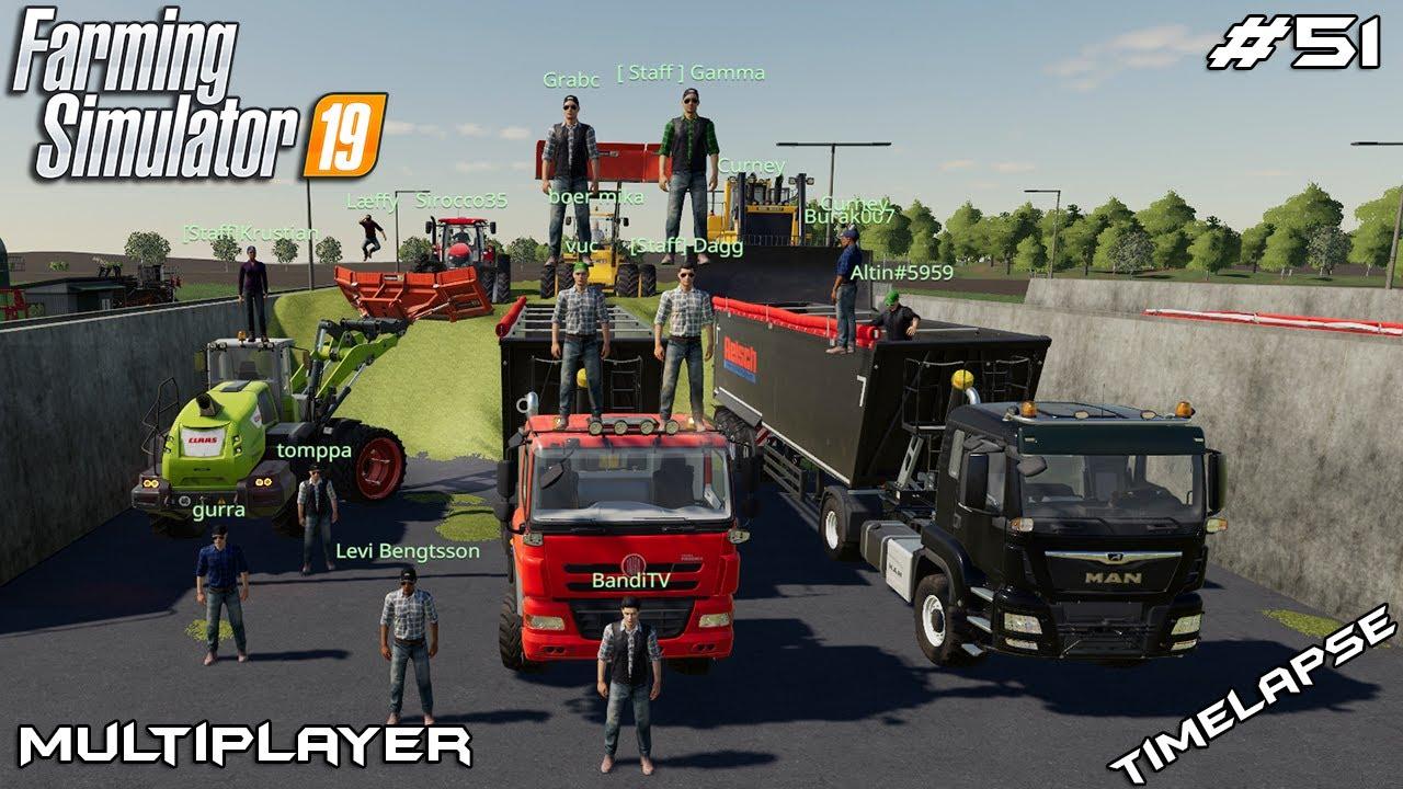 Harvesting big grass fields | MVP 19 | Multiplayer Farming Simulator 19 | Episode 51