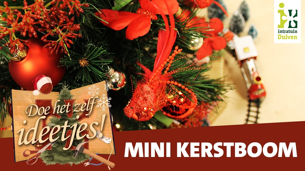 Mini kunst kerstboom | Doe-het-zelf ideetjes! [N.4] - YouTube