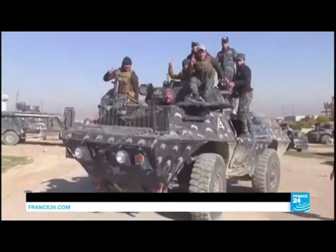 Iraq: Troops and militias in push to seize villages west of Mosul
