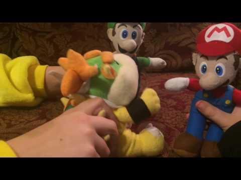 Mario & Luigi Babysitting Baby Bowser