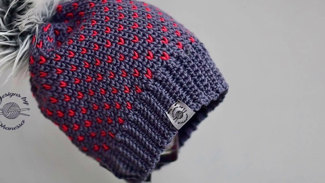 04c0e830596 How to sew tags to beanies (or handmade items) - YouTube
