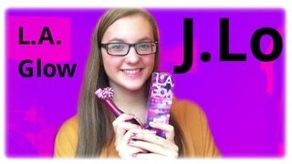 MinnieMollyReviews♡LA Glow By JLO Perfume Review♡