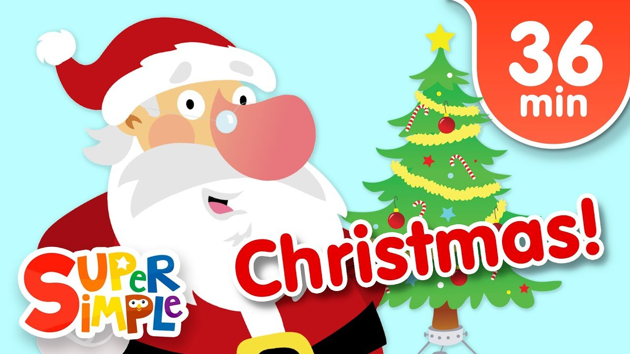 Our Favorite Christmas Songs For Kids Super Simple Songs Youtube