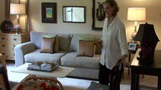 Home Decorating Basics : How To Place Living Room Furniture