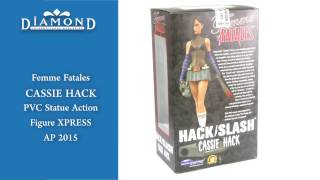 Femme Fatales Cassie Hack PVC Action Statue Figures XPRESS Exclusive AP